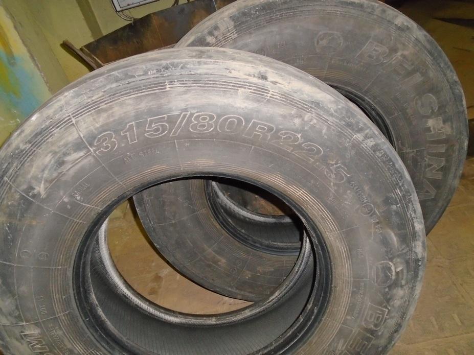 Шины б/у для МАЗа 315х80 R 22,5 (BEL-158) (2 шт.)
